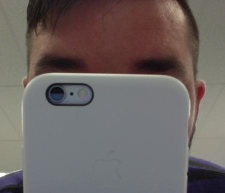 gazing into my phone